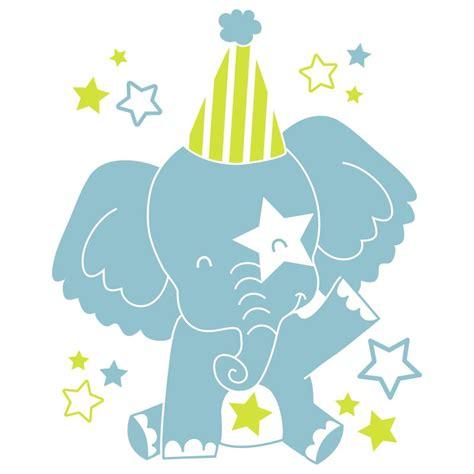 chambre bebe elephant sticker mural quot eléphant quot motif bébé fille pour chambre