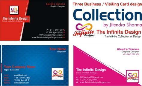 business card visiting card template  vector