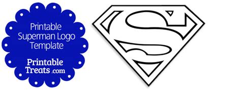 superman logo template superman cupcake toppers printable treats