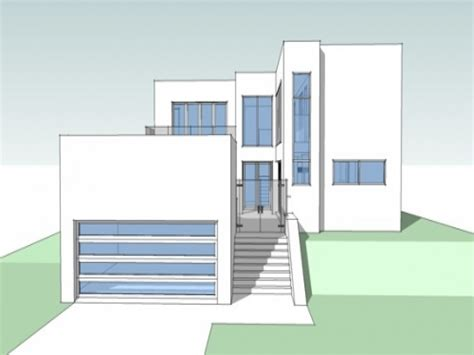 contemporary house plans free small ultra modern house plans