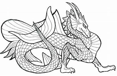 Dragon Coloring Pages Printable Pdf Boys Realistic