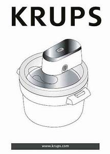 Krups Gvs241 Ice Cream Maker Download Manual For Free Now