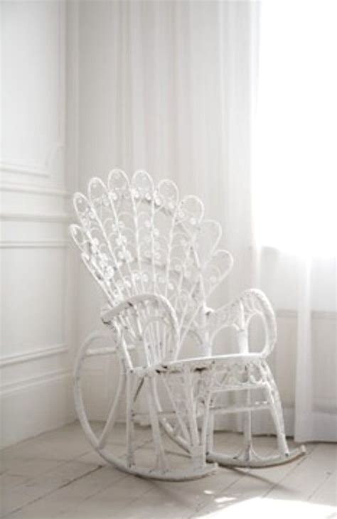 blanc white wicker rocking chair furniture tidbits white wicker all things