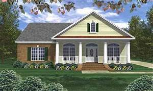 Southern, Style, House, Plan, Ft