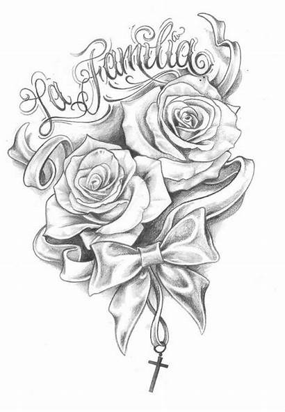 Tattoos Chicano Tattoo Rose Drawing Words Drawings