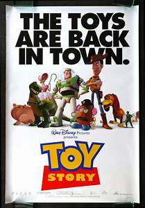 TOY STORY * CineMasterpieces 1SH ORIGINAL DS MOVIE POSTER ...