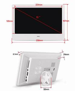 Fc Ce Rohs Manual 12v Gif Digital Photo Frame 10 Inches