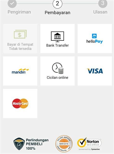 Rd Di Lazada panduan cara transaksi di lazada dengan kartu kredit
