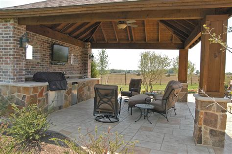 Patio And Outdoor by Dallas Outdoor Living Gallery Frisco Outdoor Kitchen Plano