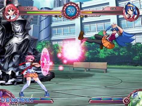 anime fight game pc arcana heart 2