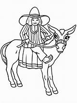 Coloring Cowboy Pages Coloringpages1001 sketch template