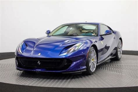 Ferrari's team provides complete assistance and exclusive services for its clients. Used Ferrari 812 Superfast for Sale in Lancaster, PA - CarGurus