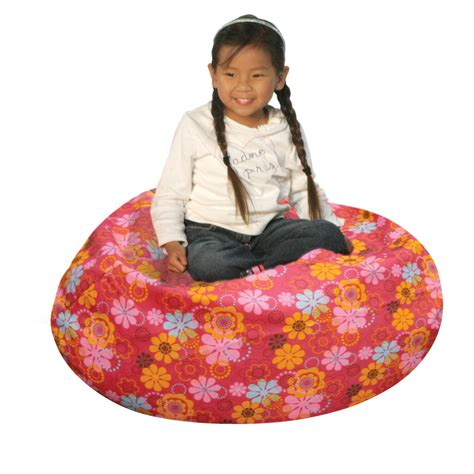 kmart bean bag chairs bean bag factory junior flower power bean bag chair cover