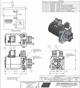12v Hydraulic Power Pack Wiring Diagram