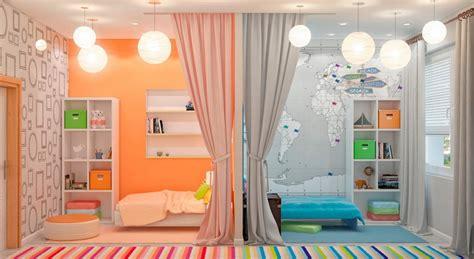 amenagement chambre 2 enfants aménagement chambre deux enfants 25 idées astucieuses