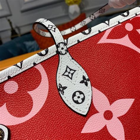 louis vuitton neverfull mm cm monogram geant canvas springsummer  collection