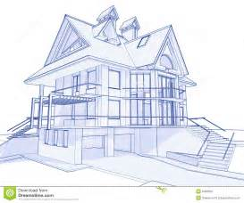 blueprints for house modern house blueprint stock photo image 6360290