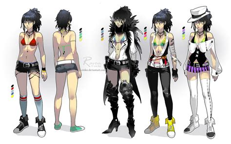 Raven - costume designs by einlee on DeviantArt