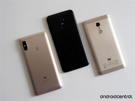 xiaomi redmi note 5 pro vs redmi note 5 vs redmi note 4