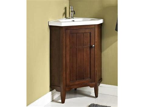 Small Corner Bathroom Sink And Vanity by Corner Vanities For Small Bathrooms Mobel Oak Compact
