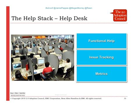 booz allen help desk enterprise 2 0 black belt workshop business case