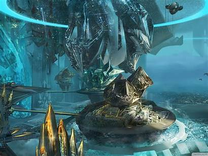 Futuristic Fiction Science Machines Allwallpaper Standard Vga
