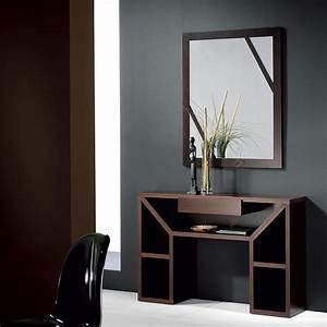 Meuble D Entrée : meuble d entree contemporain wenge karta zd1 meu dentr ~ Teatrodelosmanantiales.com Idées de Décoration