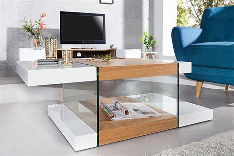 design couchtisch weiss design glas couchtisch onyx 110cm wei 223 hochglanz eiche riess ambiente de