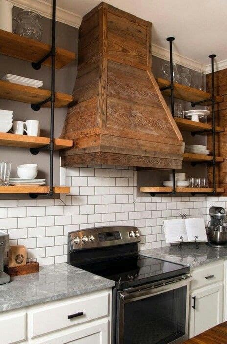 wooden cooker extractor fan cover kitchens
