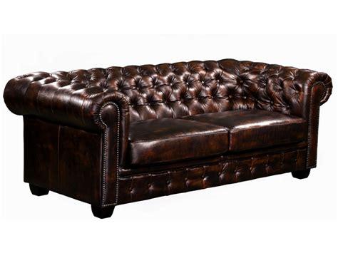 rachat de canape en cuir canapé et fauteuil chesterfield 100 cuir de buffle brenton