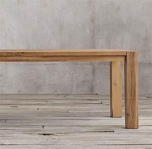 The Oak Essen : reclaimed russian oak parsons rectangular dining table rechteckiger esstisch esstisch und tisch ~ Watch28wear.com Haus und Dekorationen