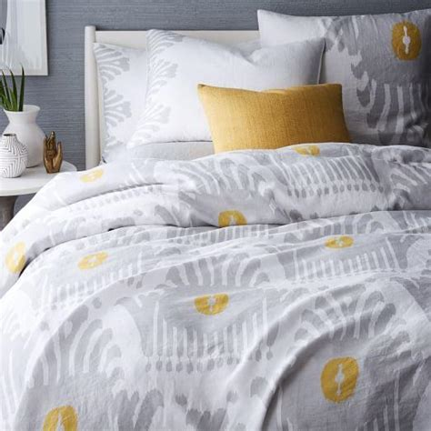 nomad coverlet shams golden gate west elm