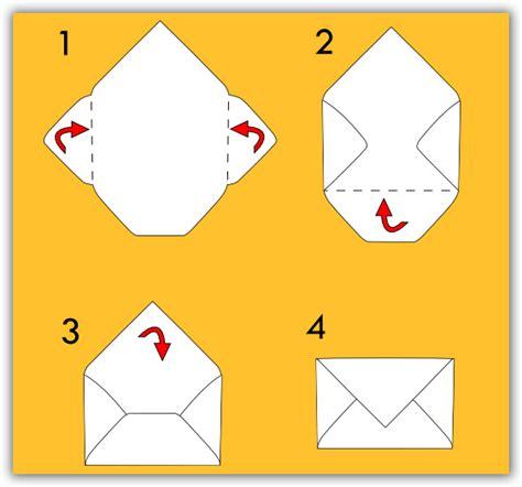 fare una busta da lettere busta per lettera fai da te