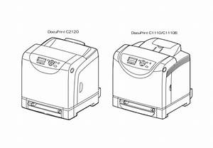 Fuji Xerox Docuprint C2120  C1110  C1110b Color Laser