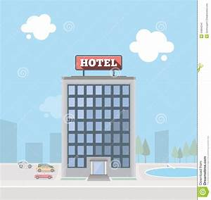 Hotel Building Stock Vector - Image: 44804244