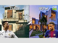 FC Barcelona vs Real Madrid Players Houses Then & Now
