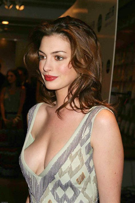 Best Hathaway Best Cleavages In The World Hathaway Cleavage
