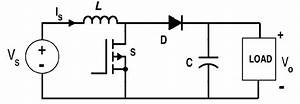 Circuit Diagram Of Boost Converter From Fig  3  During The Switch Is