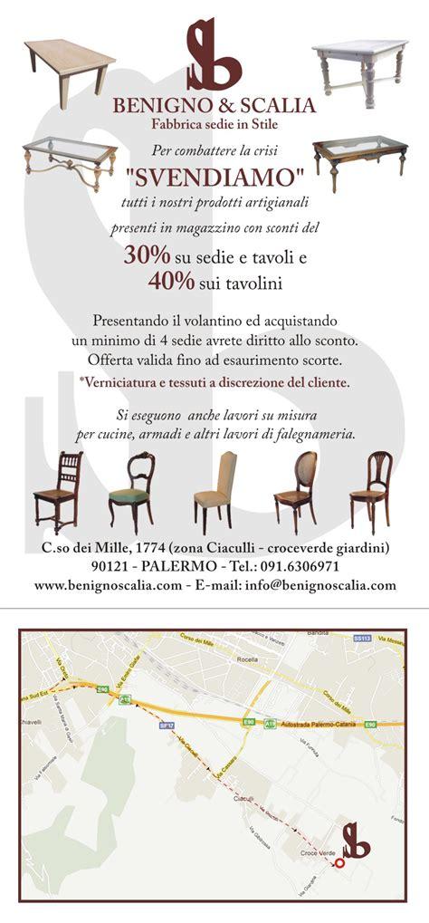 Fabbrica Sedie Palermo by Fabbrica Sedie In Stile Benigno E Scalia Gli Artigiani