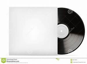 Blank white vinyl cover stock vector. Illustration of case ...