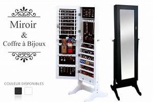 Miroir à Bijoux : bon plan miroir coffre bijoux mon ~ Teatrodelosmanantiales.com Idées de Décoration