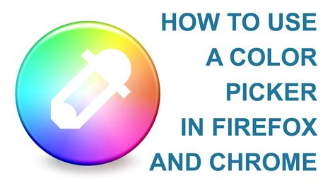 firefox color picker how to use a color picker in firefox and chrome learn