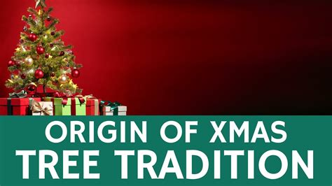where did the christmas tree tradition start fun facts