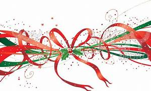 Christmas Ribbon 4 Hd Wallpaper - Hivewallpaper.com