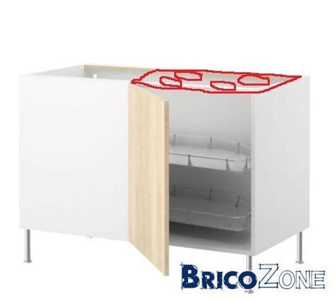 meuble en coin cuisine ikea taque de cuisson dans meuble angle coulissant