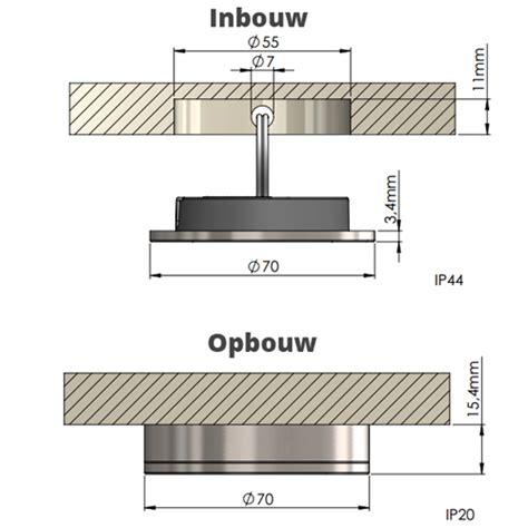 Inbouw Spots Keuken Led by Led Keukenverlichting Set Dimbaar 1 6 Spots