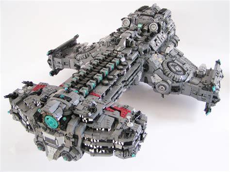 siege lego masterpieced starcraft ii hyperion battlecruiser lego