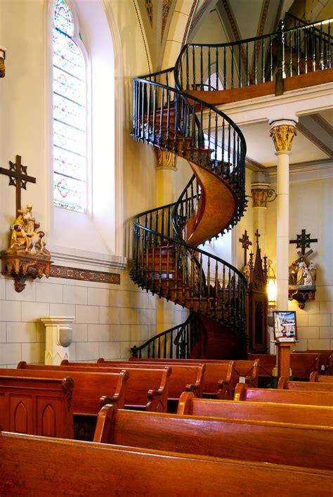 miraculous stair Loretto Chapel Santa Fe New Mexico