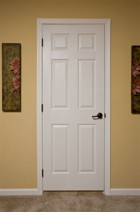 6 panel interior doors white 6 panel doors colony homes