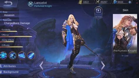 Guide And Skill Lancelot Mobile Legends